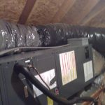 hvac system in attic